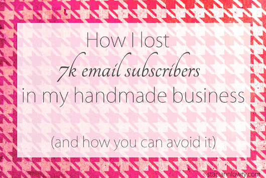 How I lost nearly 7 thousand email subscribers – and how you can avoid it happening to you.