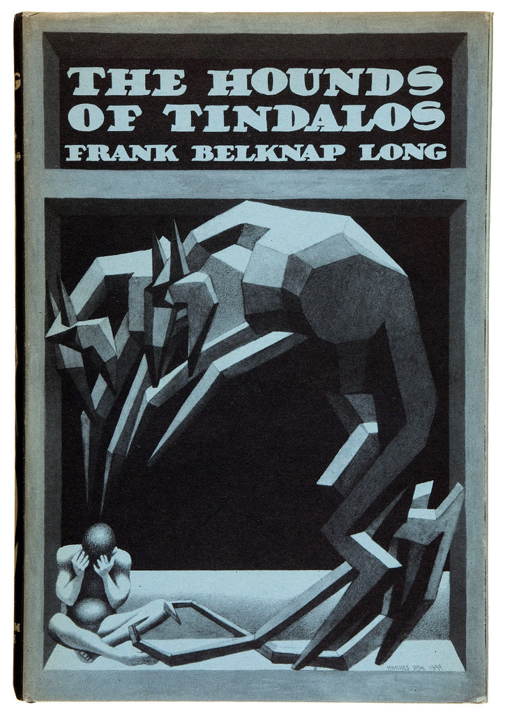 Hannes Bok - Frank Belknap Long. The Hounds of Tindalos. Arkham House, 1946