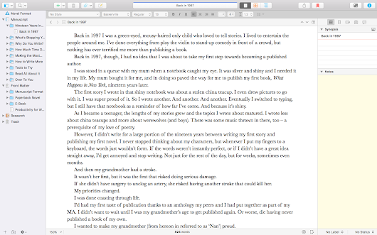 Scrivener 3 Review - The Writer's Cookbook