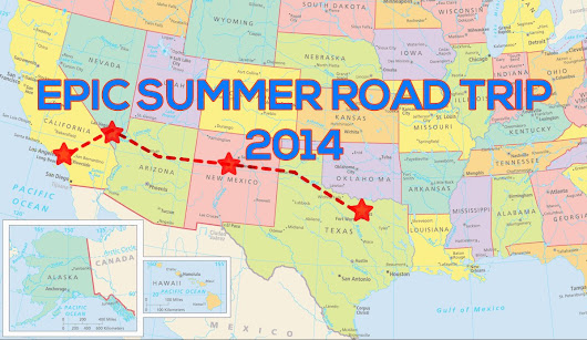 Epic Summer Road Trip 2014!
