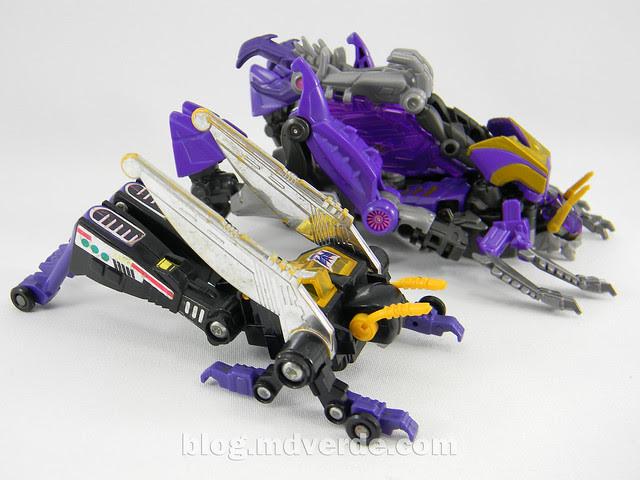Transformers Kickback Deluxe - Generations Fall of Cybertron - modo alterno vs G1