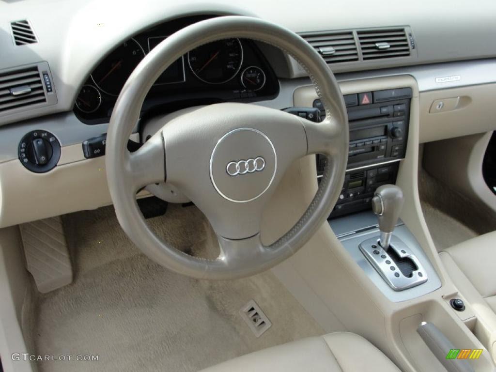 2004 Audi A4 18t Interior