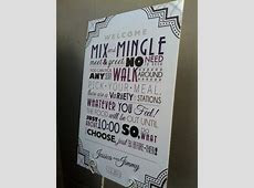 The perfect sign to let your guests know there is open seating! Mix and mingle!   www.URBANcoast