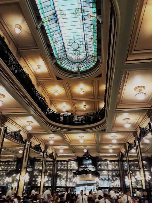Confeitaria Colombo – An Elegant Grand Café in the Old Town of Rio
