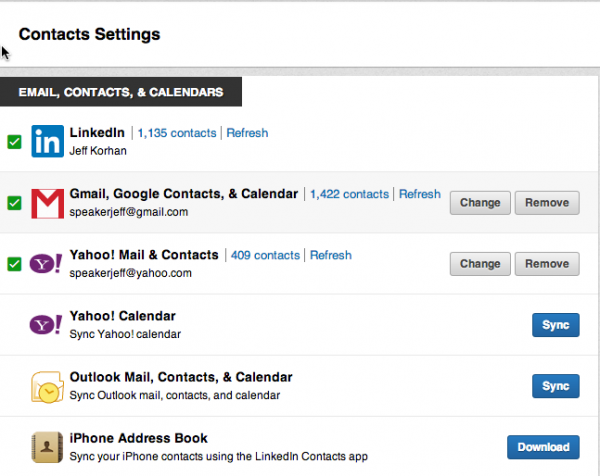2013-05-23 Linkedin Contacts