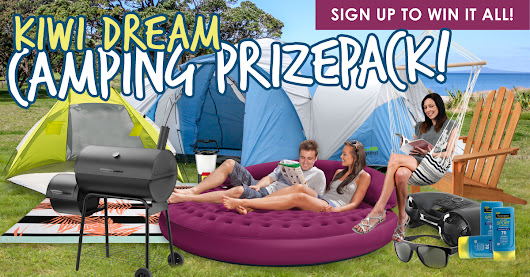Kiwi Dream Camping Prize Pack!