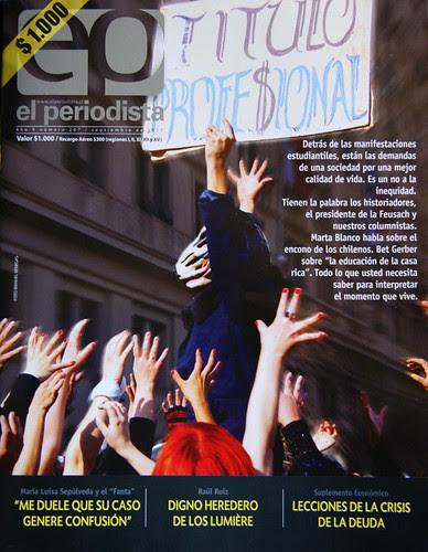 """Mi 1ra portada. """"El Periodista"""" by Manuel Venegas"""
