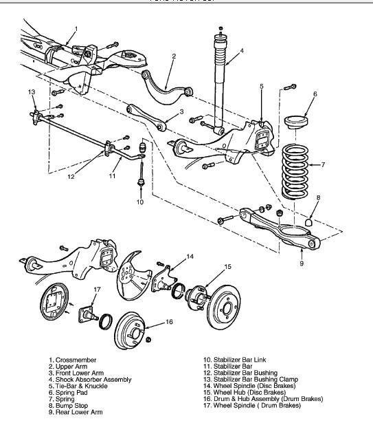 33 2007 Ford Focus Rear Suspension Diagram