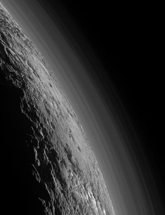 infinity-imagined:  Sunset on Pluto    Pluto, wow!... | Applied Technotopia