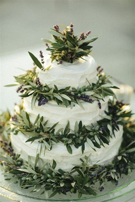 Lavender wedding cakes, Lemon lavender wedding cake
