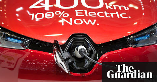 Electric cars already cheaper to own and run than petrol or diesel – study | Environment | The Guardian