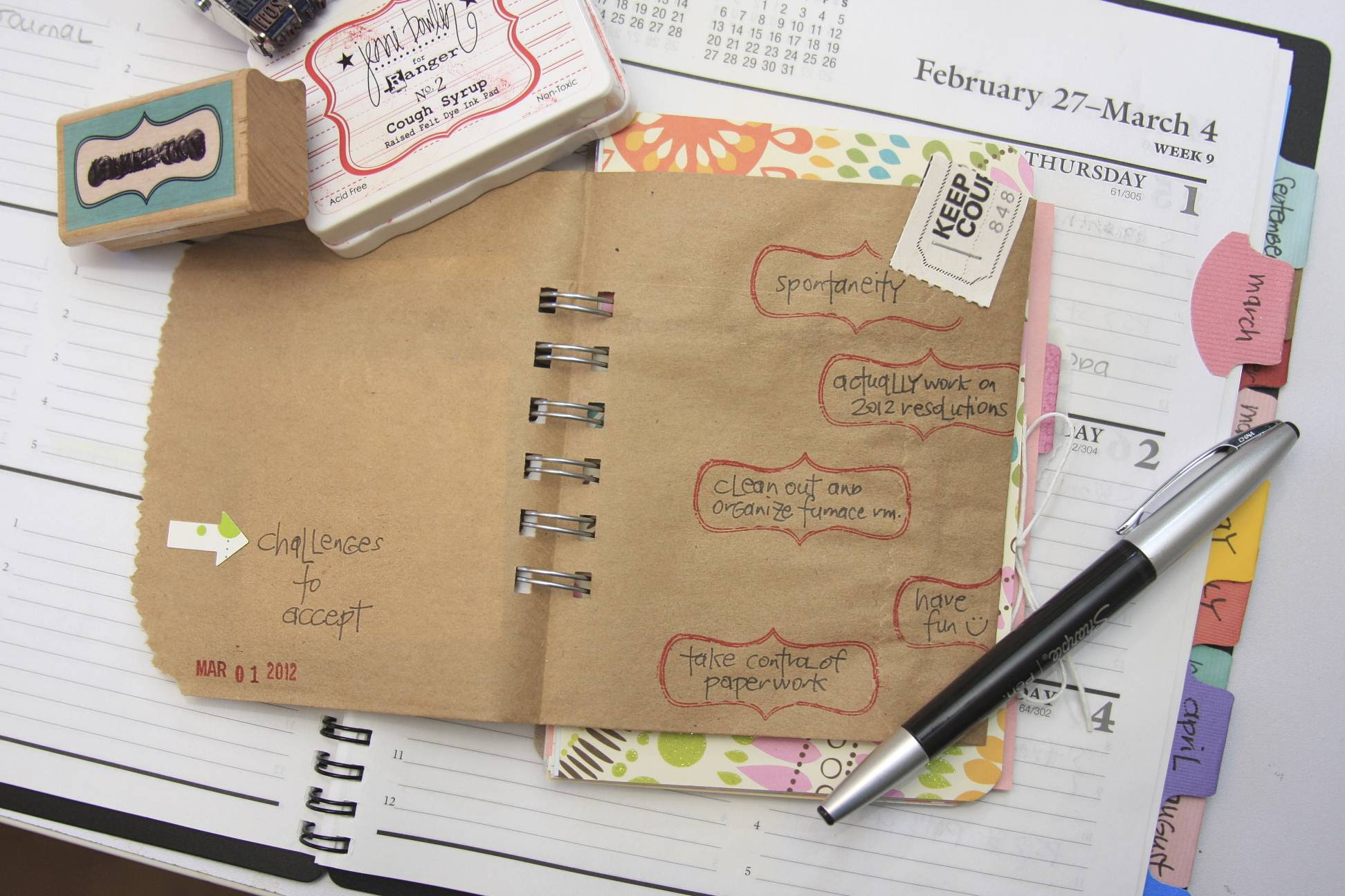 Challenges | 30 Days of Lists | March 2012