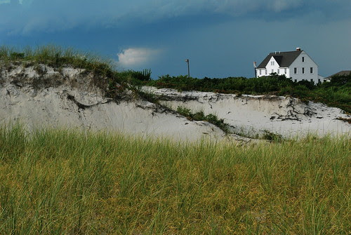 Across the dunes