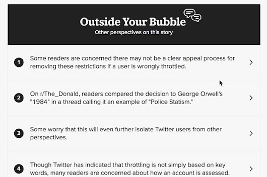 Buzzfeed implements the IndieWeb concept of backfeed to limit filter bubbles