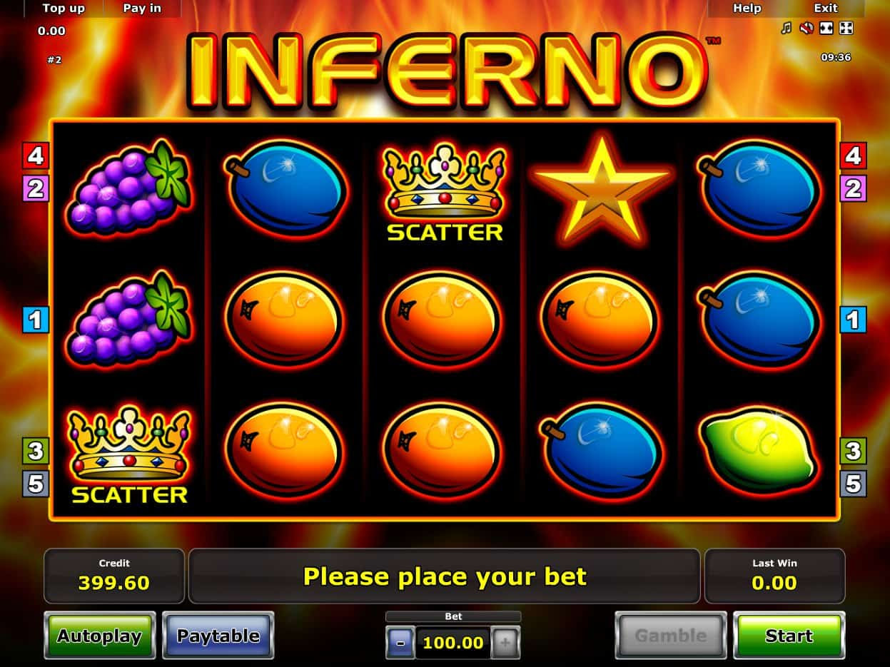 Slots inferno casino instant play Poker winning slots game