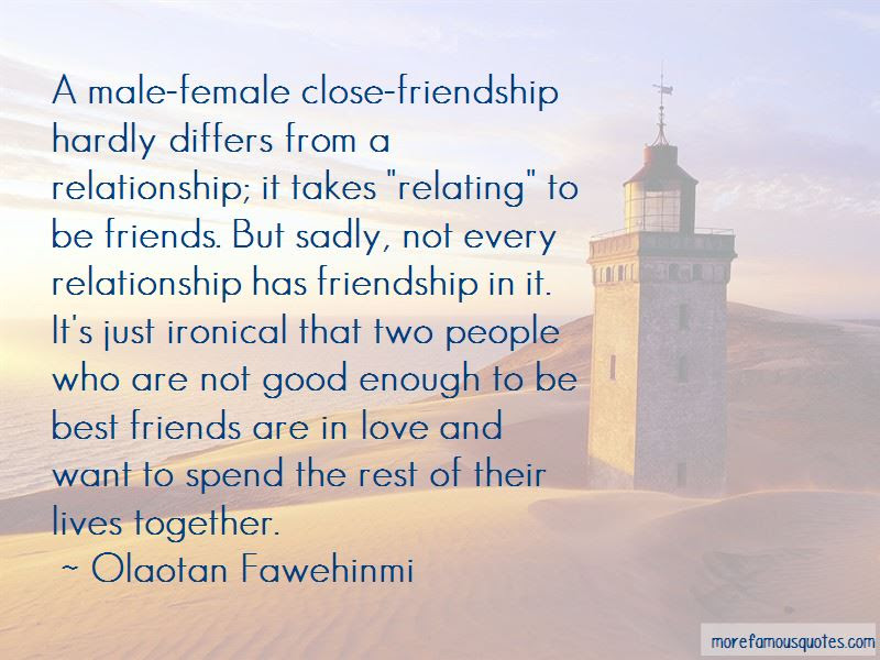 Quotes About Male Female Best Friends Top 2 Male Female Best