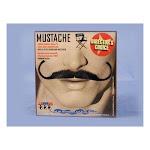 Aristocrat Grey Real Human Hair Adult Costume Moustache