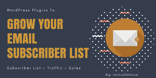 8 Best WordPress Email Subscription Plugins To Grow Your Email List