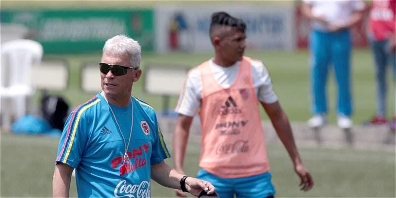 Orlando Restrepo, entrenador de Colombia Sub-17.