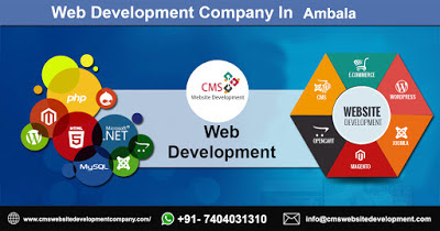 Web Development Company in Ambala +91- 7404031310 by cmswebsitedevelop on DeviantArt