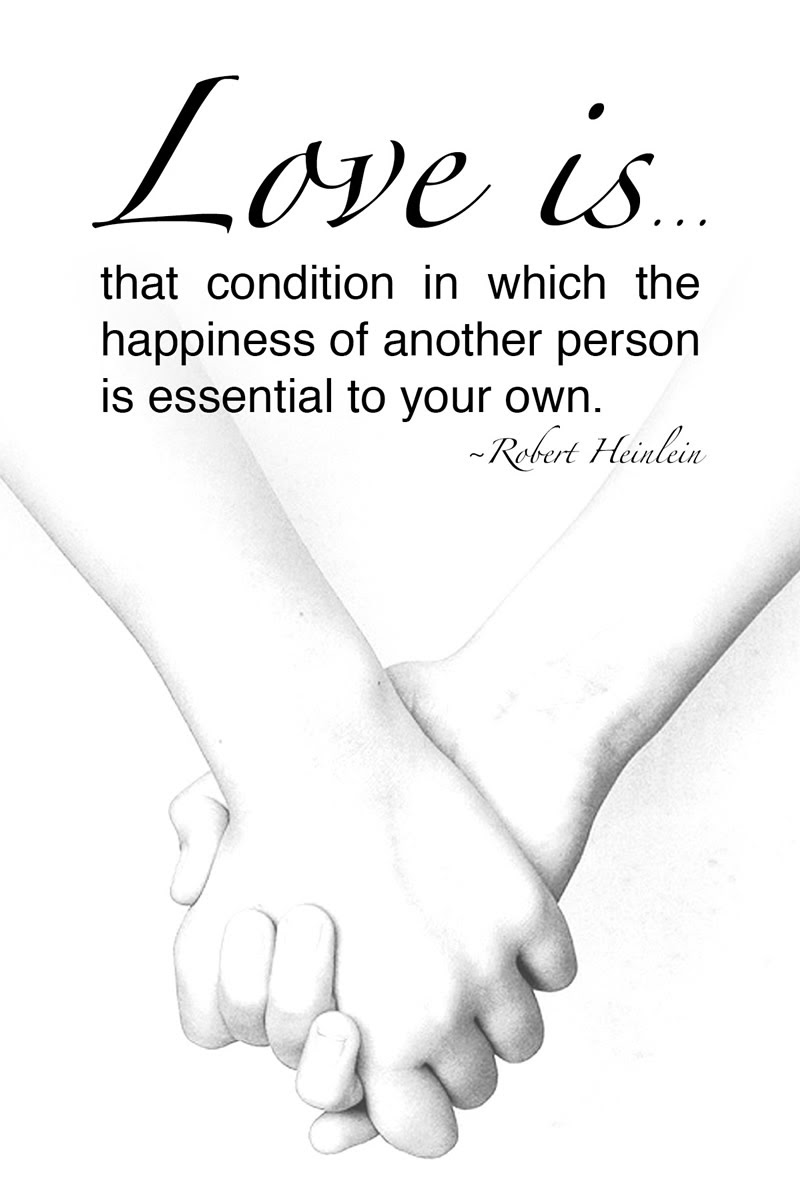 Free printable love quote Robert Heinlein