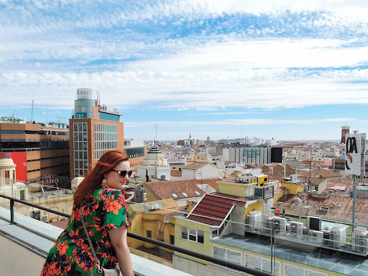 Rooftop Views | Madrid, Spain