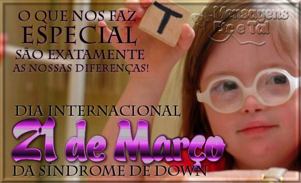 Dia Internacional da Síndrome de Down Imagem 4