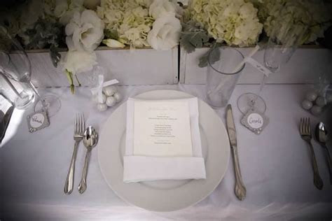 Classic White Martha Stewart Inspired Bridal Shower   The
