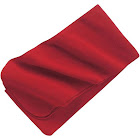 Port Authority FS03 Extra Long Fleece Scarf - Red