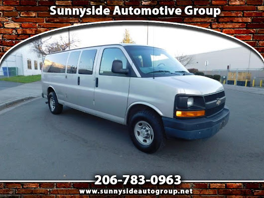 Used 2007 Chevrolet Express LS 3500 Extended for Sale in Seattle WA 98133 Sunnyside Automotive Group