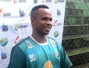 Renatinho Carioca Coruripe (Foto: Viviane Leão/GloboEsporte.com)