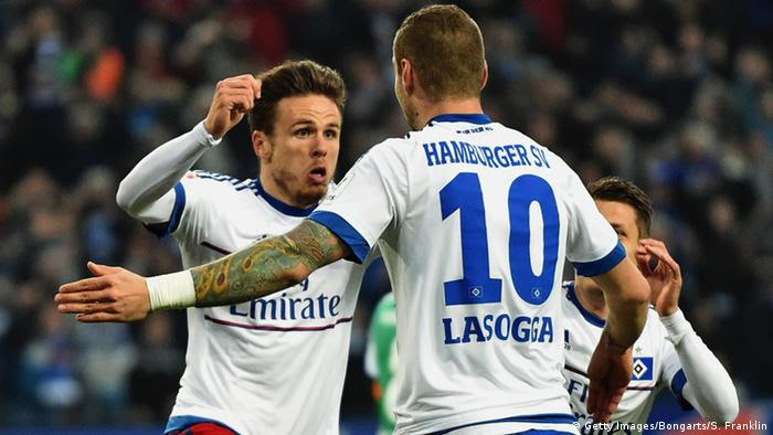 Müller Lasogga HSV Bundesliga