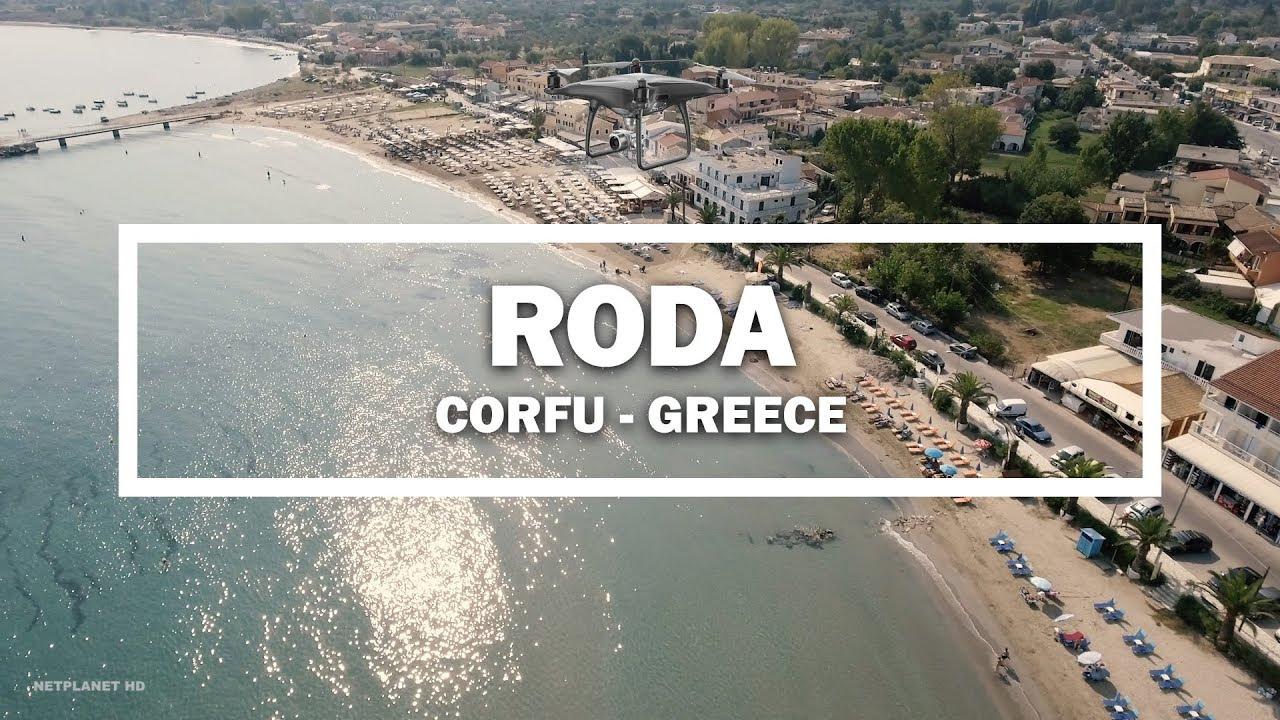Roda Corfu Greece Drone Youtube