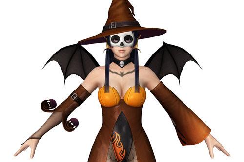 Nyotengu Halloween