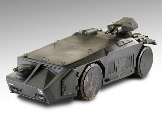 Aliens Colonial Marines Armored Personnel Carrier Toy: Game Over, Man! - Technabob