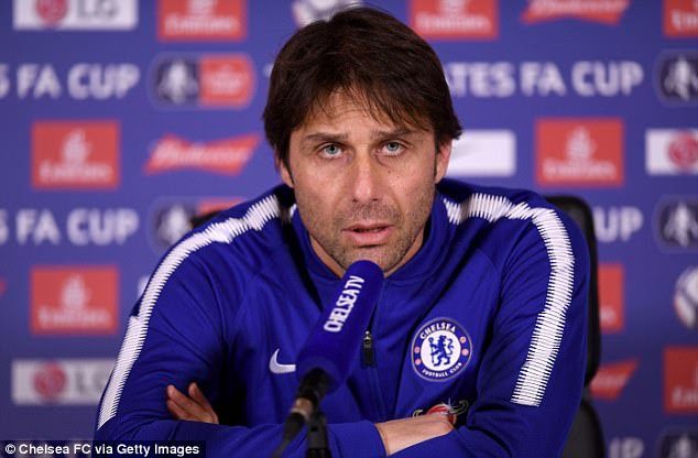 Antonio Conte says he's beginning to understand what it was like for previous Chelsea bosses