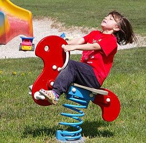 Child Deutsch: Spielendes Kind
