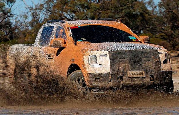 Оцените испытания нового Ford Ranger