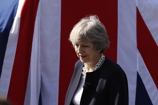 May confirms Britain leaving single market