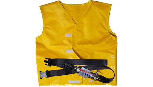 Personal Air Conditioning vest for worker safety & comfort