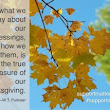 My Thanksgiving wish for you...By Gail Kauranen Jones, Life Coach | Support Matters