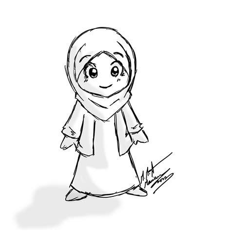 hijab arabic aarby hijab drawing anime muslimah anime