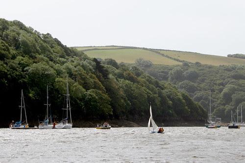 St Mawes boating