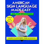 Harris Communications DVD501 American Sign Language Made Easy ASL for Beginners DVD - Classifiers Jobs & School