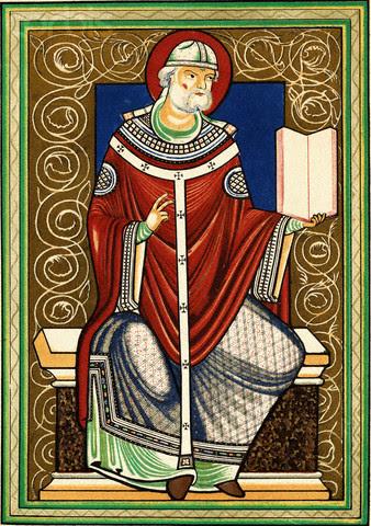 saint Gregoire le Grand pape orthodoxe de Rome