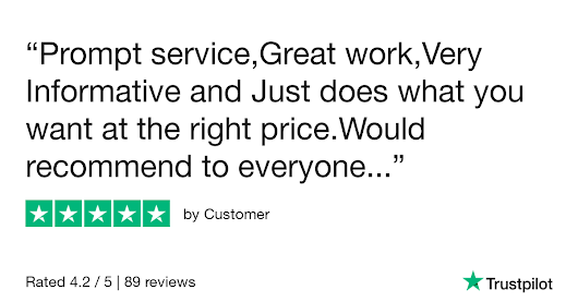 Customer gave Hi-Tech Aerials 5 stars. Check out the full review...
