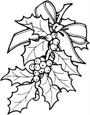 Le Houx Comme Décoration De Noël