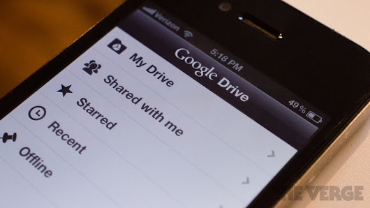 Google splits up Drive app, requires standalone apps to edit documents
