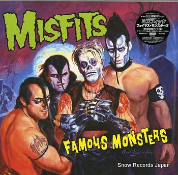 MISFITS, THE famous monsters