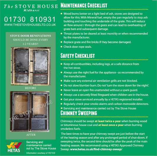 Tips for Servicing and Maintenance on your Wood Burning Stove